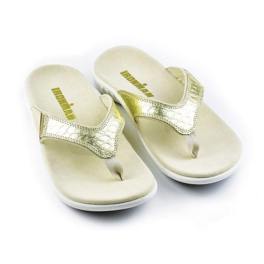 IRONMAN Women's 'OHANA Sandals - Gold