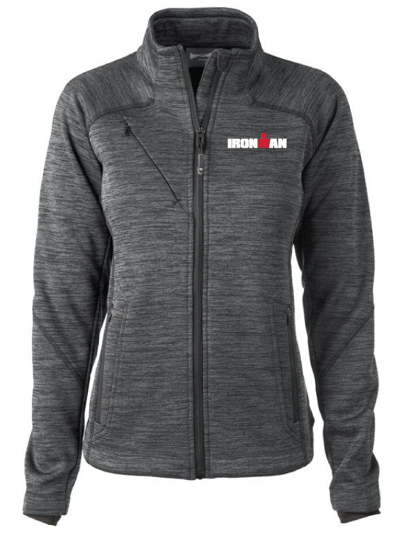 IRONMAN Women's Bonded Fleece Jacket-Grey