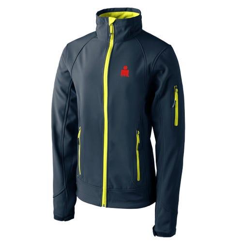 IRONMAN Custom Patch Jacket - Men's Grey/Lime-X-Large