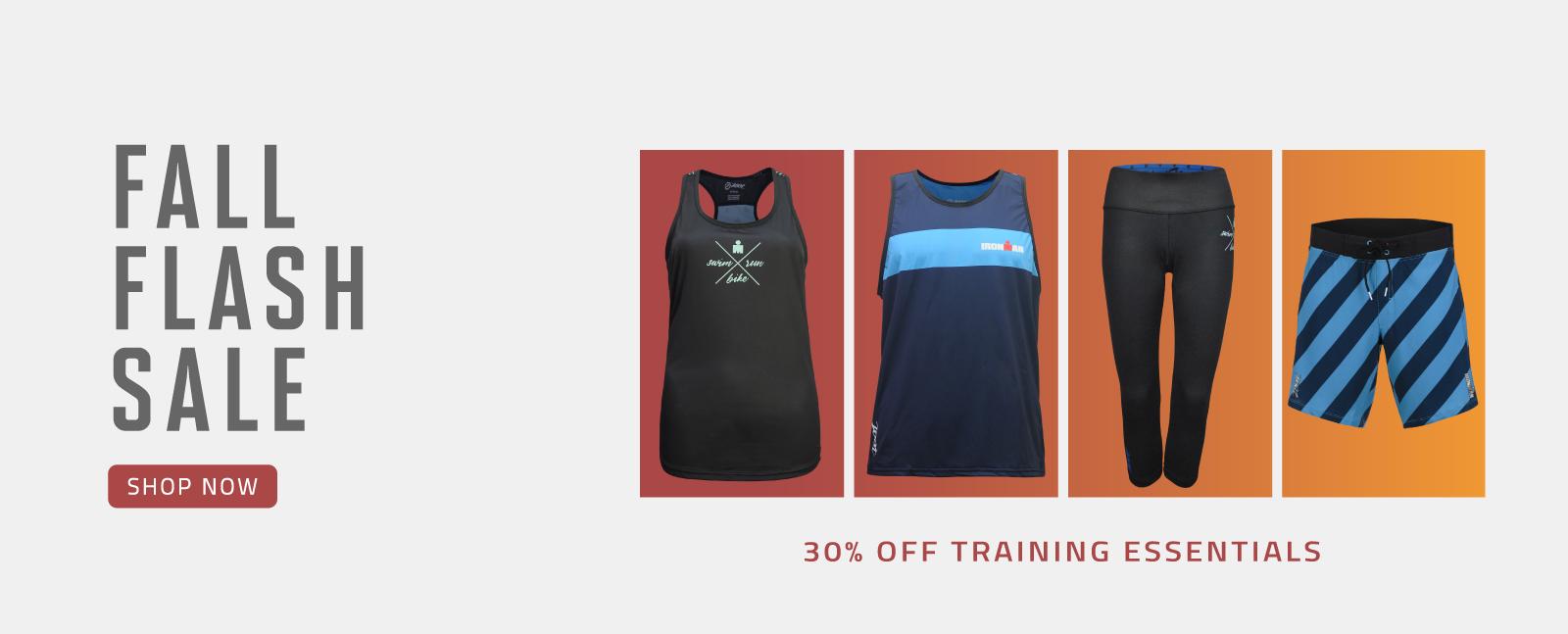 Fall Flash Sale - 30% off Training Essentials