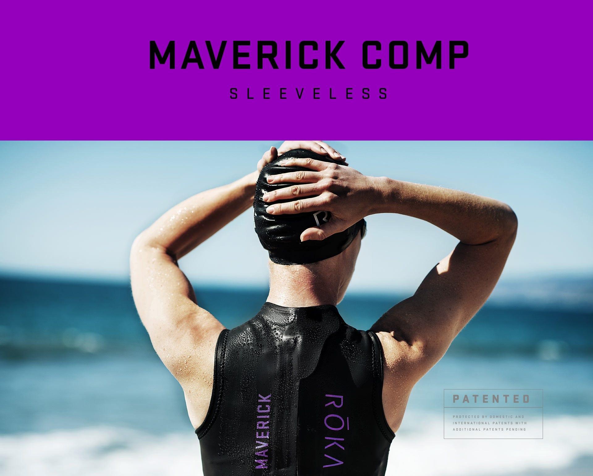 IRONMAN ROKA Women s Maverick Comp II Sleeveless Wetsuit. Hover to zoom.  Details feded2c30